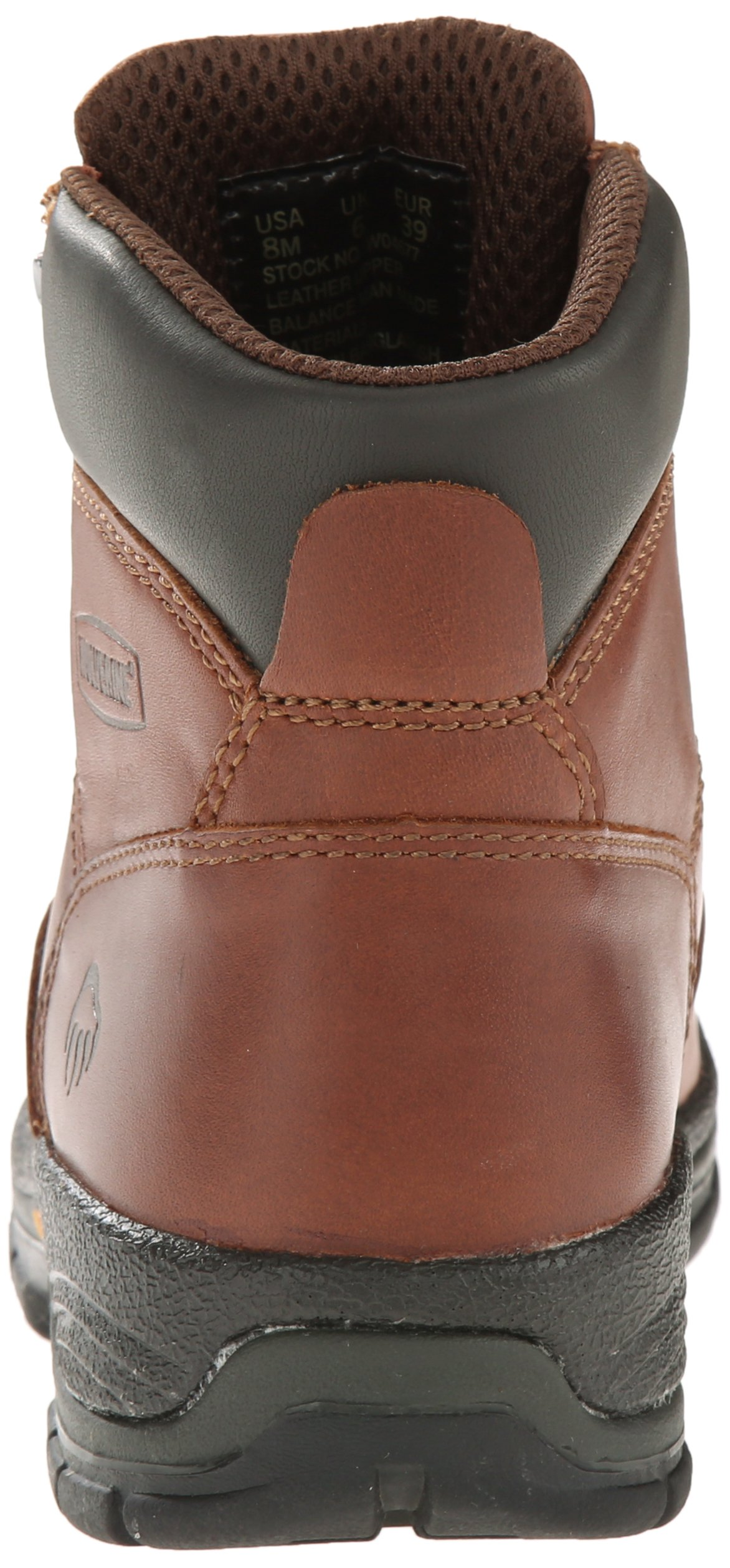 Wolverine Women's Harrison WMS 6'' LACE UP-W, Brown, 10 M US by Wolverine (Image #2)