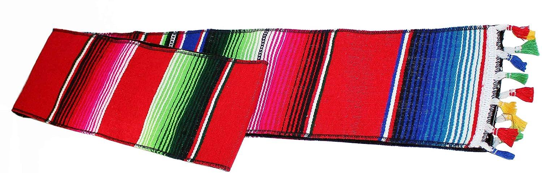 Mexican Scarf Graduation Stole Serape Blanket Sash Red Latino Scarves sarape