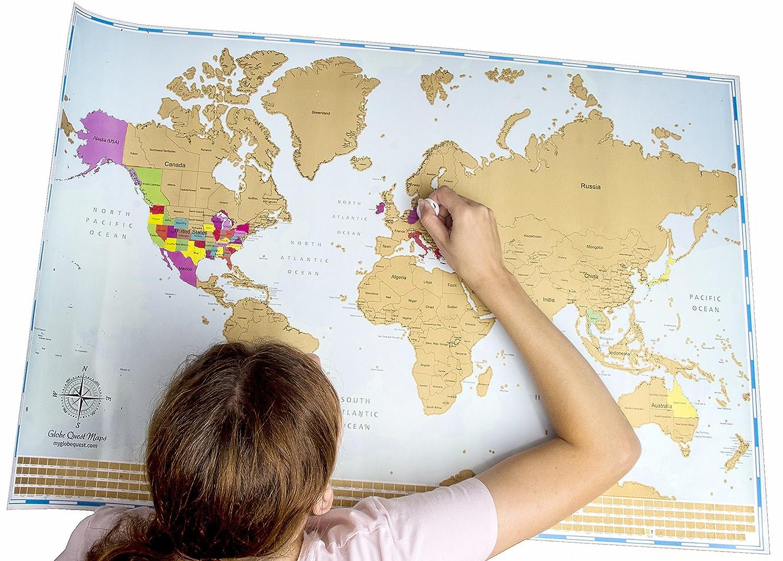 Cartina Mondo Regalo