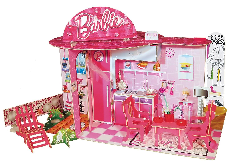 Casa di barbie in legno amazing casa delle bambole di for Casa barbie prezzi