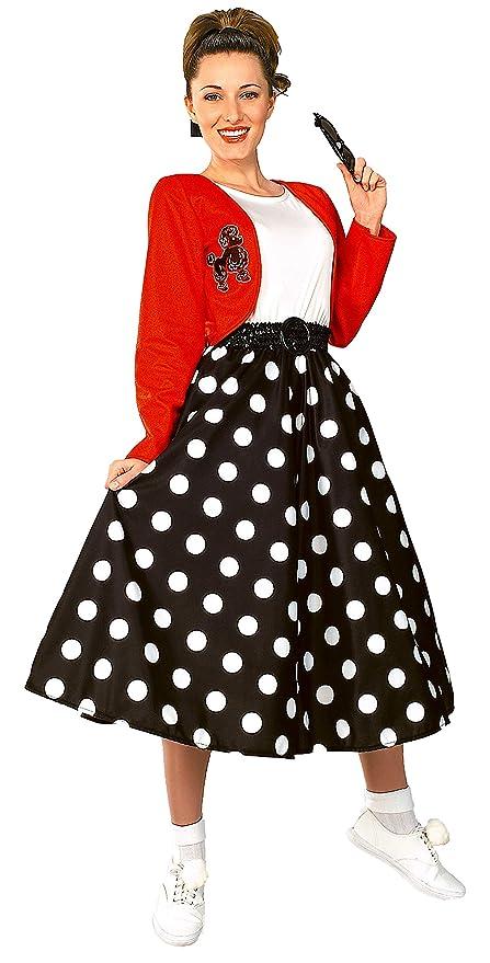Rubies Costume Fabulous 50s Polka Dot Sock Hop Girl Costume