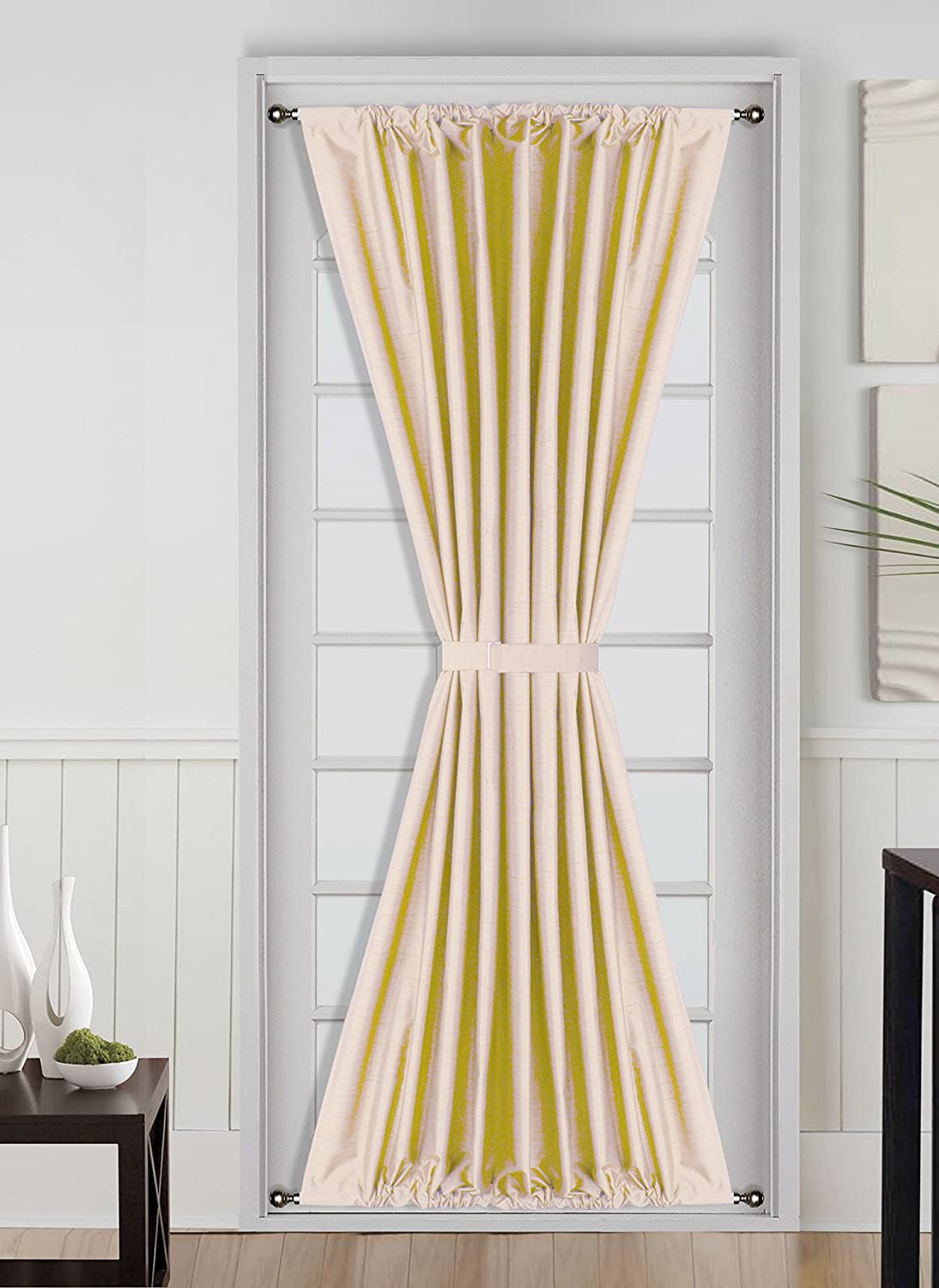 Simple French Door Window Treatments For A Unique Home Swift - French door window treatments