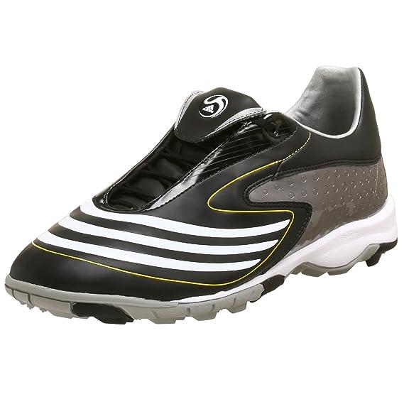 campeón Dios escritura  Buy Adidas Men's F10.8 TRX TF Soccer Shoe, Black/White/Lemonpeel, 6.5 M at  Amazon.in