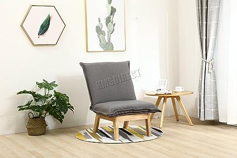 Westwood Retro Tejido único futón Silla Asiento de Vintage ...
