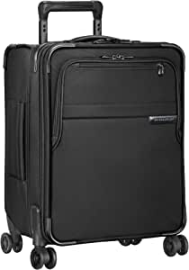 Briggs & Riley Baseline International Carry-on Expanadable Wide-Body Spinner, Black (Black) - U121CXSPW-4