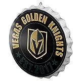 Vegas Golden Knights NHL Bottle Cap Wall Sign