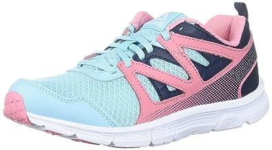6e839a0c5 Reebok Baby Run Supreme 2.0 Sneaker, Blue Lagoon/coll. Navy/Squad Pink