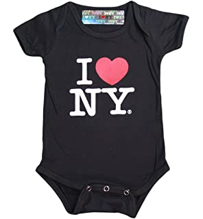Amazon Com I Love Ny New York Baby Infant Screen Printed Heart