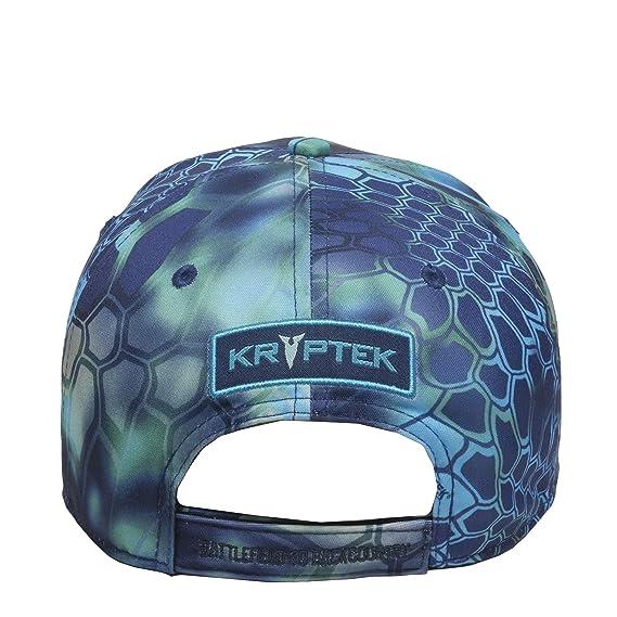 42a07481eea Amazon.com  Kryptek Spartan Logo Camo Hat