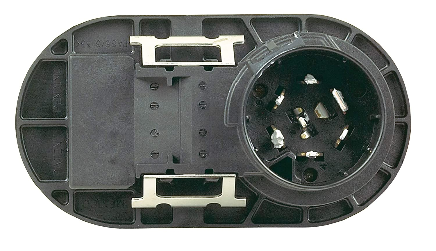 Hopkins 40974 Multi-Tow 7 Blade and 4 Flat Connector