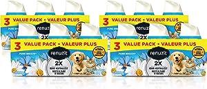 Renuzit Gel Air Freshener, Pure Breeze Pet, Tough on Pet Odors, 12Count