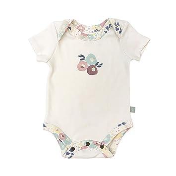 aaee3d42eaaa Amazon.com  Finn + Emma Organic Cotton Lap Bodysuit for Baby Boy or ...