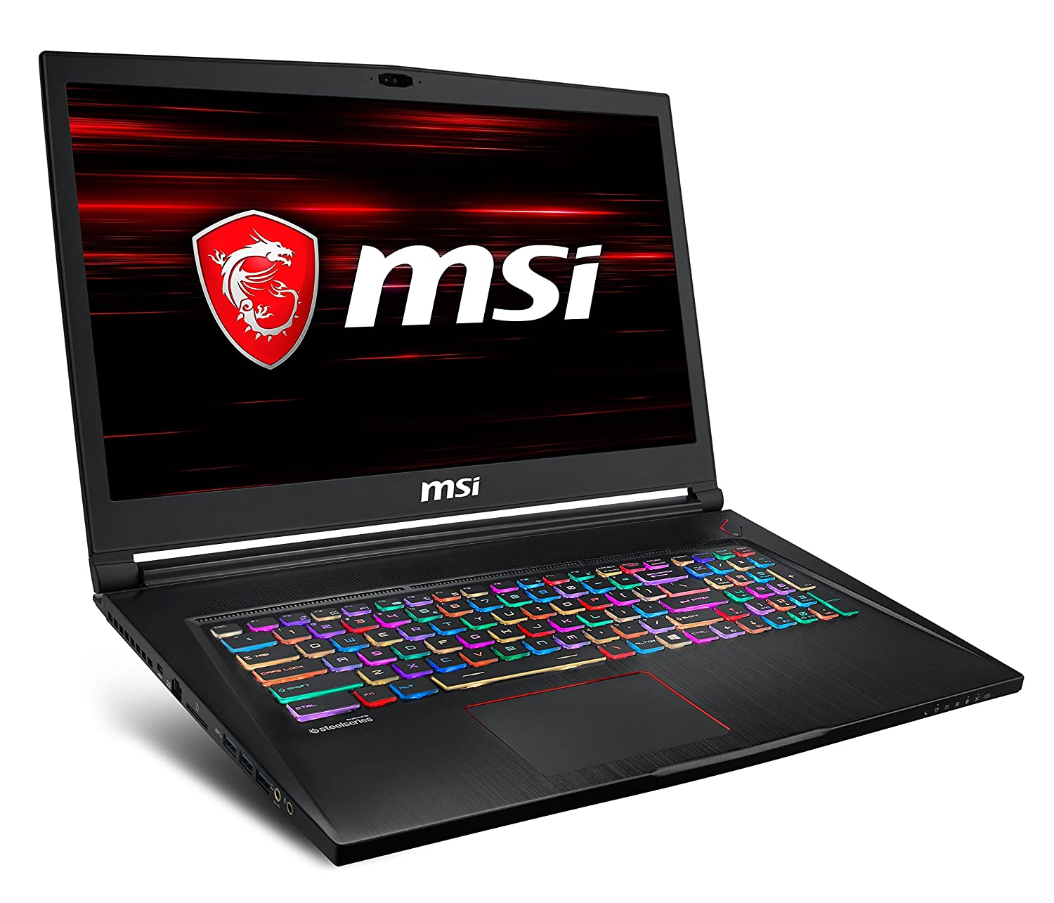 TALLA Nvidia GTX 1060 6GB | 1TB HDD + 256GB SSD. MSI GS73 Stealth 8RE-007XES - Ordenador portátil Gaming 17.3