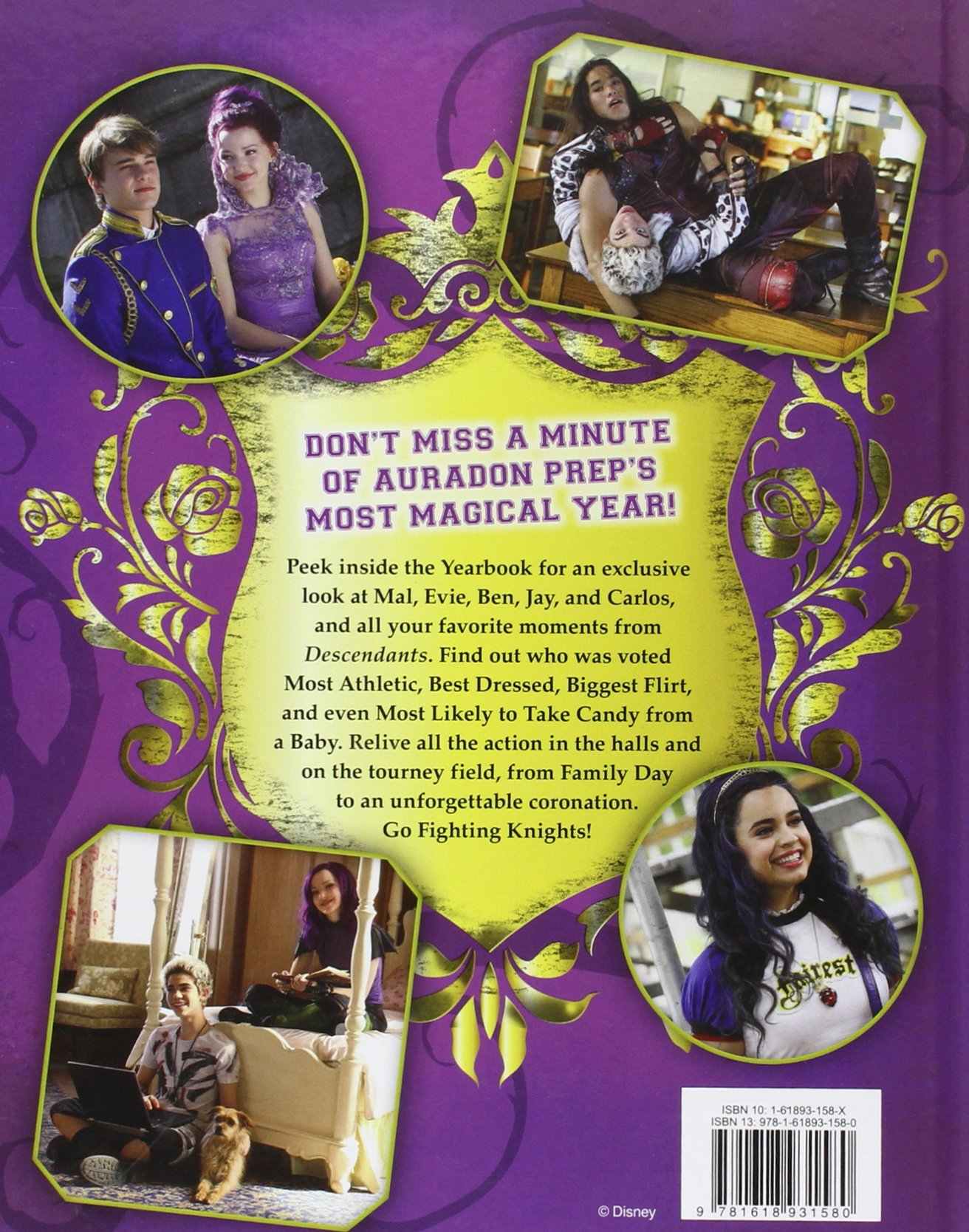 Disney Descendants Yearbook: Disney: 9781618931580: Amazon