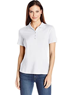 557dfb125192 Dickies Women s Pique Polo Shirt at Amazon Women s Clothing store ...