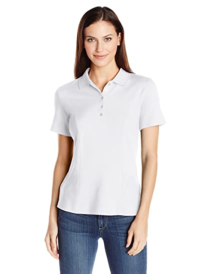 5bba125414 Riders by Lee Indigo Women s Short-Sleeve Polo Shirt at Amazon Women s  Clothing store