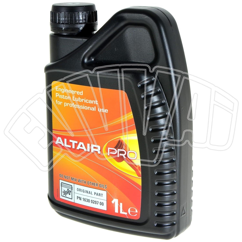 Altair Pro - Aceite específico para compresores de aire de pistones para Abac, Ceccato, Fini, etc.: Amazon.es: Bricolaje y herramientas