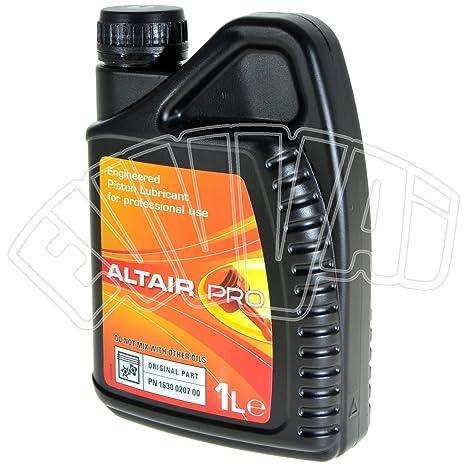 Altair Pro - Aceite específico para compresores de aire de pistones para Abac, Ceccato,