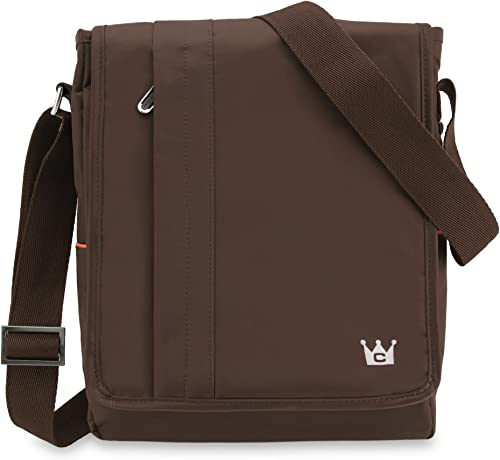 CaseCrown Water Resistant Poly North Messenger Bag Brown for Microsoft Surface Pro RT