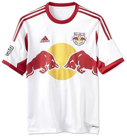 Amazon.com   MLS New York Red Bulls Short Sleeve Replica Jersey ... 0e793e559a700