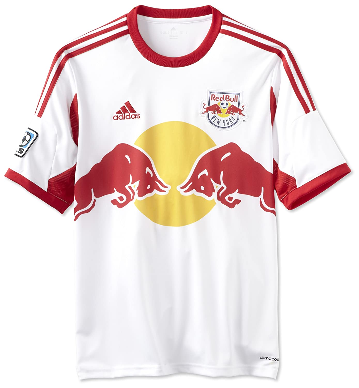 premium selection fa46c 97b54 MLS New York Red Bulls Short Sleeve Replica Jersey