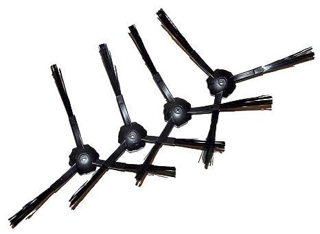 2pares de cepillos de repuesto para Ecovacs Deebot M82