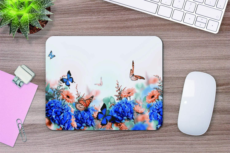 colore oro rosa 200 x 240 mm Tappetino per mouse rettangolare motivo leopardato elegante texture con effetto laminato antiscivolo Yeuss