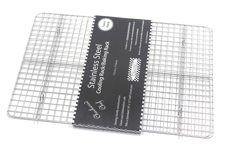 Amazon.de: Checkered Chef Kühlung Rack Backen Rack Twin Set ...