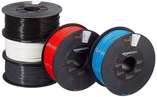 Creality 3D PLA Filament 1.75mm 1KG Spool for 3D Printer Red