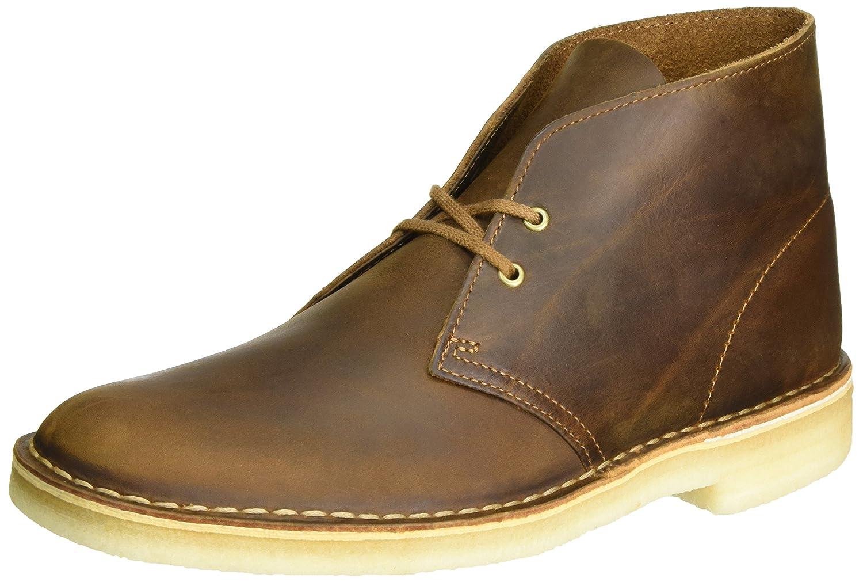 Clarks Originals Desert Boot, Botas para Hombre 42.5 EU|Marrón (Beeswax)