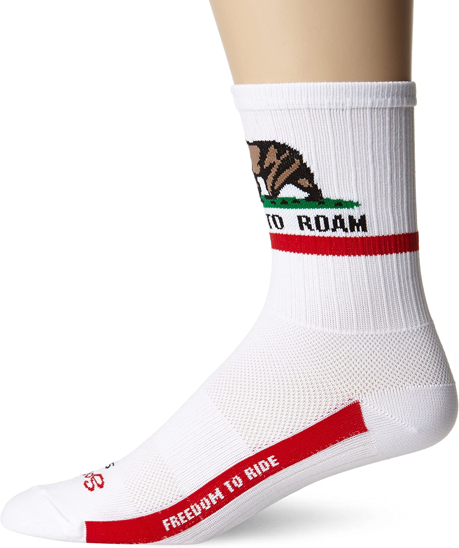 SockGuy Mens California Freedom Socks