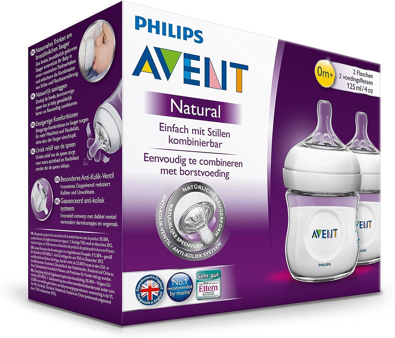 Biberon Natural Rose 330ml SCF697//17 Philips Avent