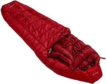 VAUDE Sioux 1000 Syn - Saco de Dormir Color Dark Indian Red, Talla 1000: Amazon.es: Deportes y aire libre