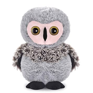 Amazon Com Lazada Plush Owl Realistic Hoot Owl Stuffed Animal Toy