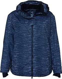 f672bbed97 Pulse Women s Plus Extended Size Ski Coat Jacket Aspens Calling at ...