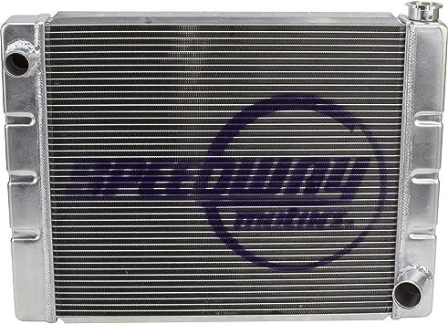 """New 22/"""" x 20/"""" x 2/"""" Aluminum Racing Radiator for Sprint Car 2 Row Single Pass"""