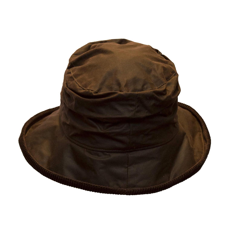 Ladies Wax Diana Country Hat Walker /& Hawkes Brown