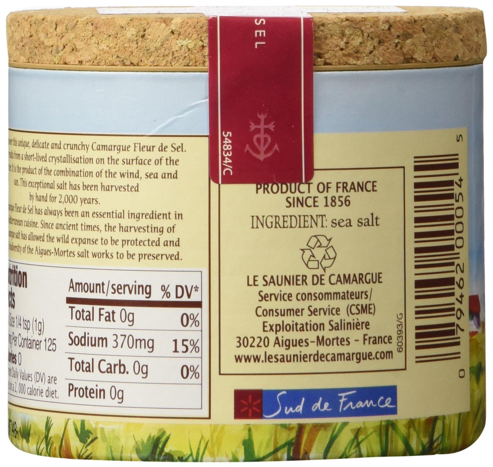 Le Saunier De Camargue Fleur De Sel Sea Salt, 4.4-Ounce Canisters (Pack of 3) by Le Saunier De Camargue (Image #7)