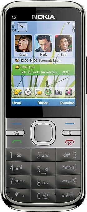 Nokia C5 - Móvil libre (pantalla de 2,2