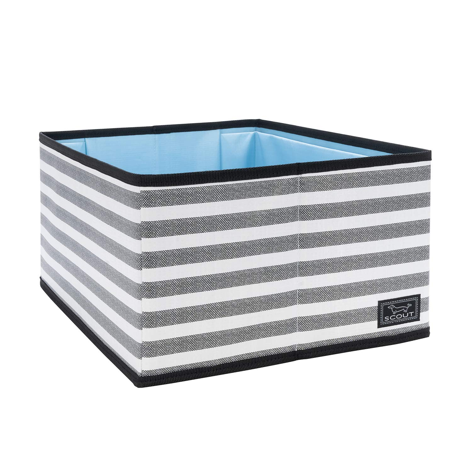 SCOUT Divide & Conquer Storage Bin, Collapsible and Stackable Storage Bin and Drawer Organizer with Dividers (Multiple Patterns Available) by SCOUT