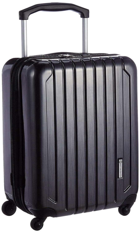 [スカイナビゲーター] スーツケース 機内持込可 保証付 40L 51.5cm 3.4kg SK-0725-49  ガンメタリックヘアーライン B01MF5MUBS