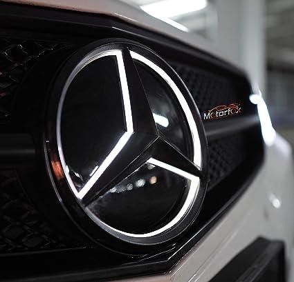 Motorfox 2011 2018 Logo /étoile /à LED blanc pour calandre avant