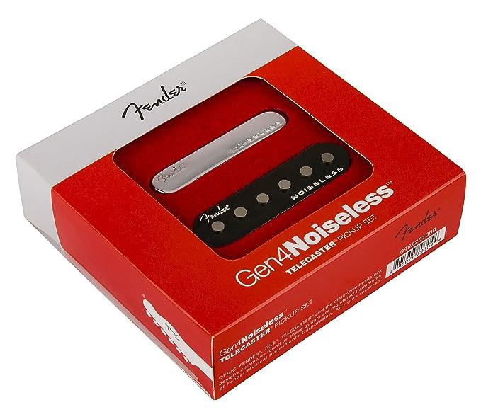 Fender Gen 4 Noiseless Tele Pickups - Pickup Set: Amazon.de ...