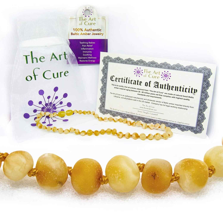 【最安値挑戦】 The Art of Art Cure Baltic Amber of Teething Baltic Necklace for Baby (Raw Butter) - Anti-inflammatory by The Art of Cure B004ZSIR5S, Modern Pirates:7d52d9d9 --- a0267596.xsph.ru