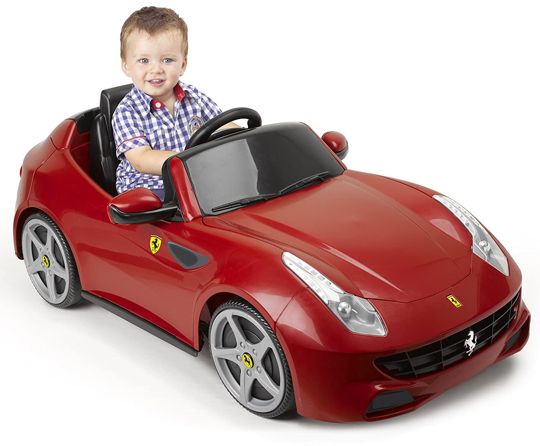 FEBER Ferrari FF 6V UK, Multicolor (Famosa 800007822)