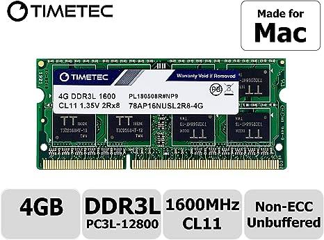 4GB 8GB 16GB 2RX8 DDR3-1600Mhz PC3-12800S Memory For iMac MacBook Pro Mac Mini