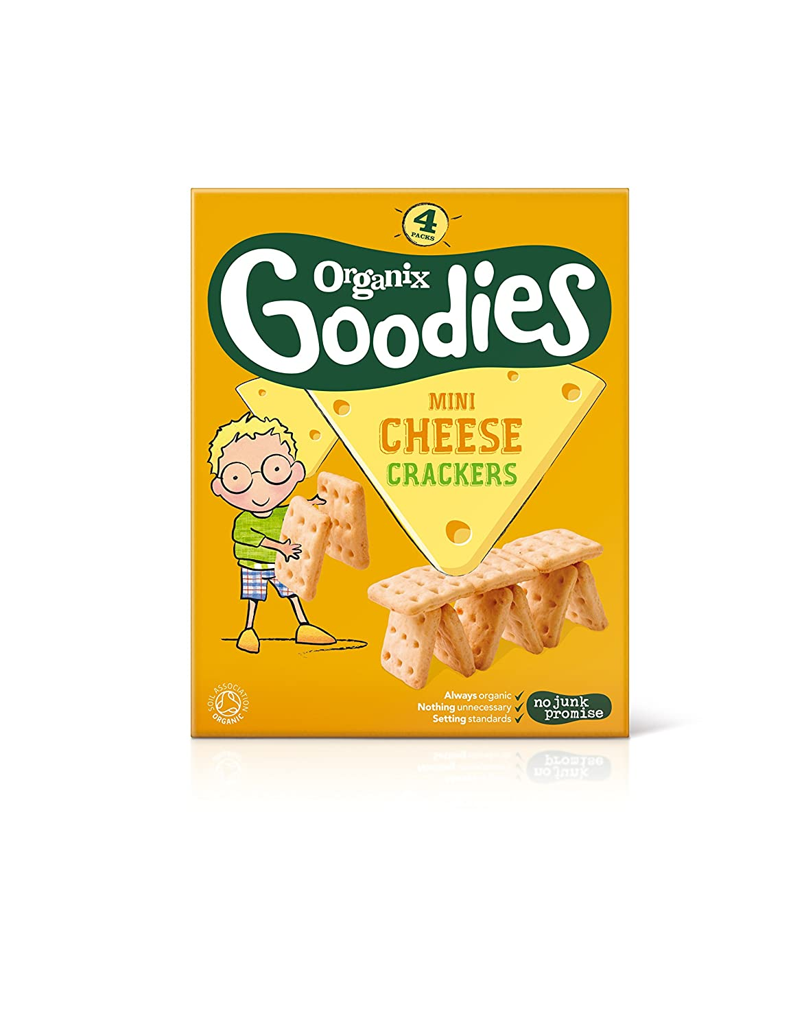 Organix Mini Cheese Crackers 105104519