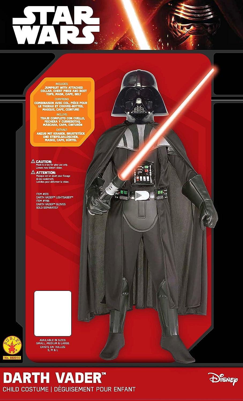 sc 1 st  Amazon.com & Amazon.com: Little Boysu0027 Child Deluxe Darth Vader Costume: Toys u0026 Games