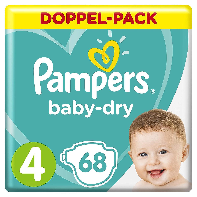 Pampers Baby-Dry Windeln, Gr. 4, fü r Atmungsaktive Trockenheit, 68 Stü ck Procter & Gamble 8001090918079