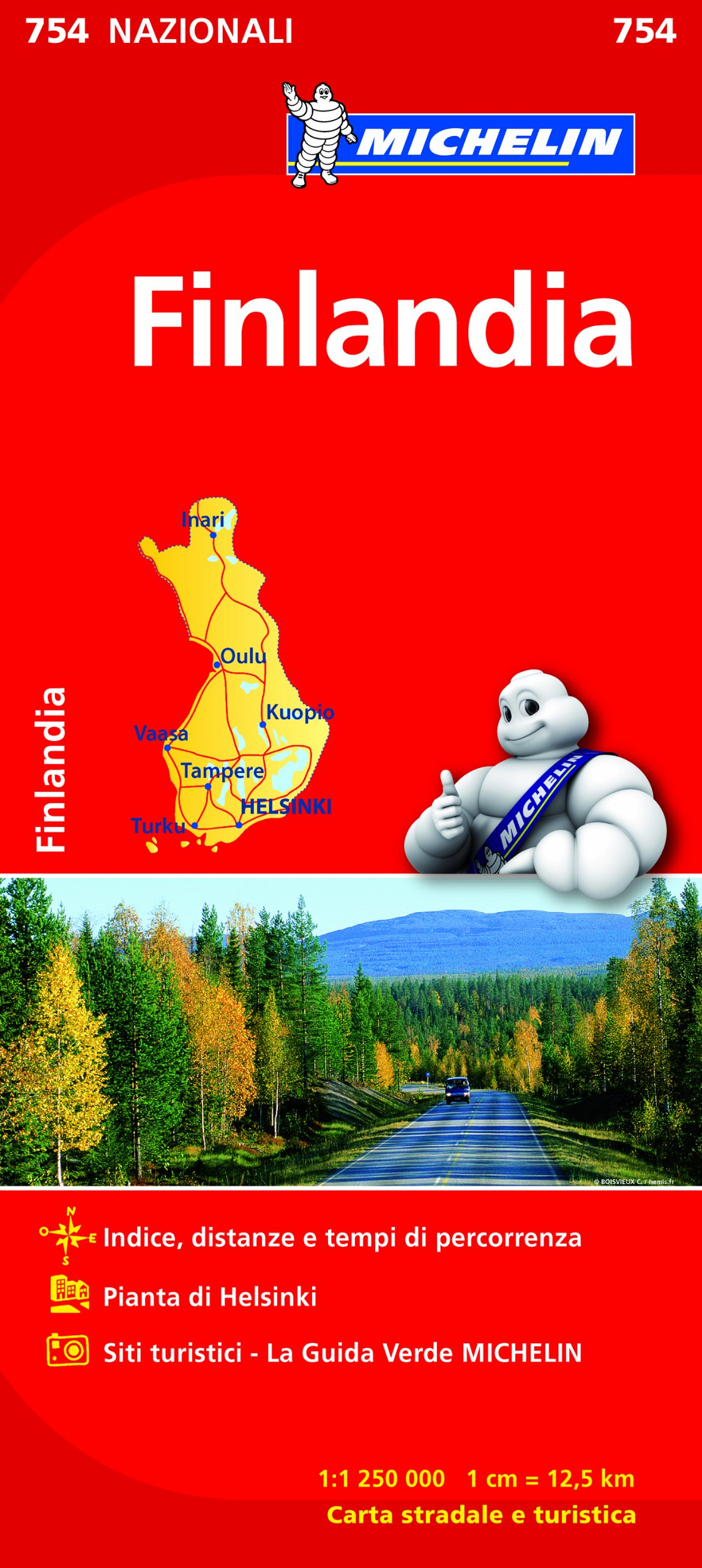 Finlandia 1:1.250.000